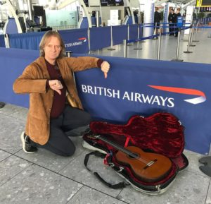 British Airways Upsetting Musicians